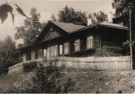 Дом где жил Дружков К.М. после войны