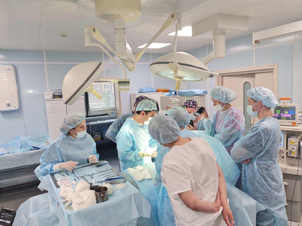 показательные операции по реконструктивной хирургии